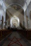 Übel in der Kirche Stockfotografie