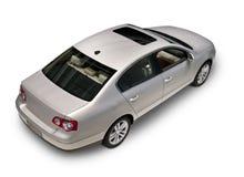 Über Ansicht des Autos Stockfotografie