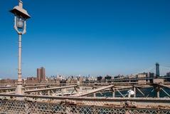 Über Brücken von New York lizenzfreies stockfoto