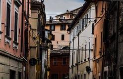 Über Del Borgo lizenzfreies stockbild