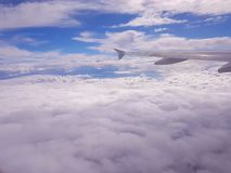 Über dem Himmel Lizenzfreie Stockfotografie
