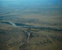 Über dem Mara stockfotografie