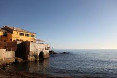 Über dem Meer. Lizenzfreies Stockfoto