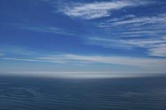 Über dem Meer Stockfotografie