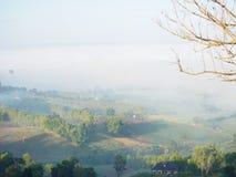 Über dem Nebel Lizenzfreie Stockbilder