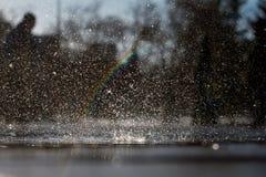 Über dem Regenbogen lizenzfreie stockfotos