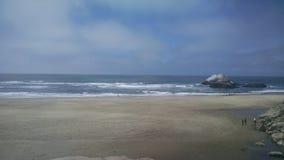 Über dem Strand Lizenzfreie Stockfotos