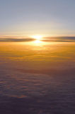Über den Wolken stockfotos