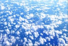 Über den Wolken Stockbild