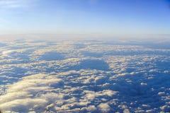 Über den Wolken Lizenzfreie Stockfotografie