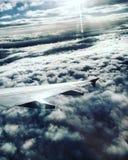 Über den Wolken Stockfoto