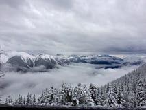 Über den Wolken! Stockfotos