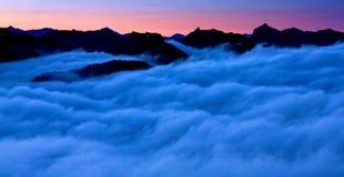 Über den Wolken Washington State Lizenzfreie Stockfotos
