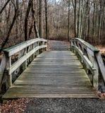 Über der Brücke Lizenzfreie Stockfotografie