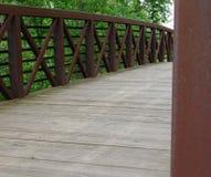 Über der Brücke Stockfotos