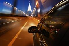 Über der Megyer Brücke Lizenzfreies Stockfoto