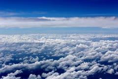 Über der Wolke Stockbilder