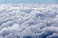 Über der Wolke Stockfoto