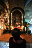Über Dolorosa 12. Stationen des Kreuzes, Jerusalem Lizenzfreie Stockfotografie