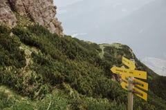 Über Ferrata, das in Österreich klettert Lizenzfreie Stockfotografie