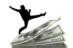 Über Geld lizenzfreie stockfotos
