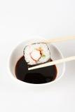 Über köstliches makizushi setzen Lizenzfreie Stockfotos