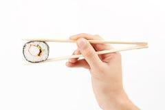 Über köstliches makizushi setzen Stockfotografie