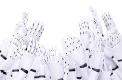 Über Lauf durch Roboter Stockfotografie