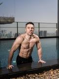 Über Mann 40 mit großem Körper Stockbilder