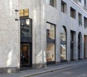 Über Montenapoleone Mailand Stockfotografie