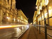 Über PO Turin stockbild