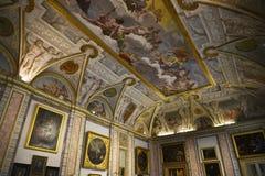 Über Tür Skulptur in der Borghese-Sammlung im Landhaus Borghese Rom Italien Stockbild
