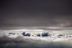 Über Wolken Lizenzfreie Stockfotografie