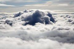 Über Wolken Stockfotografie