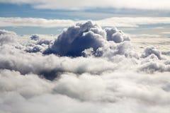 Über Wolken Stockfoto
