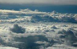 Über Wolken Lizenzfreie Stockbilder