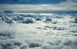 Über Wolken Lizenzfreies Stockfoto