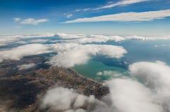 Über Wolken Lizenzfreie Stockfotos