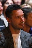 Über Zehntausend nehmen Leute an dem Jahr-Geburtstagskonzert Viktor Drobyshs 50. bei Barclay Center teil Lizenzfreie Stockbilder