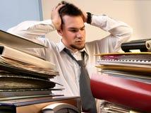 Überbelastete Arbeitskraft Lizenzfreies Stockfoto