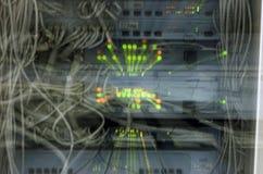 Überbelastetes Netzkonzept Stockbild