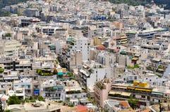 Überblick über Athen Stockfotografie