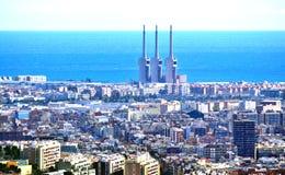 Überblick über Barcelona Stockfotos