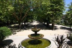 Überblick über den Quellpark lizenzfreies stockfoto