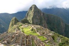 Überblick über Machu Picchu lizenzfreie stockfotografie