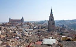 Überblick über Toledo Stockfotografie