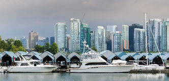 Überblick über Vancouver Stockfotografie