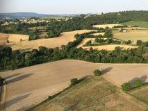 Überblick bei 'Pierrerue', Albes-De-Haute-Provence stockbilder