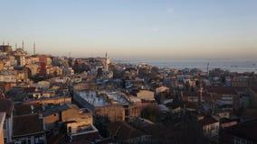Überblick Istambul Stockfoto