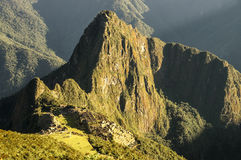Überblick Macchu Picchu Montana stockfotografie